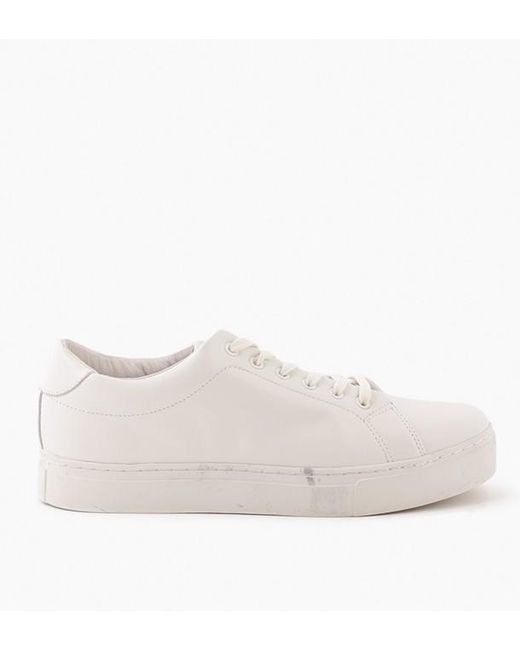 Saturdays NYC - White Derek Leather Shoe for Men - Lyst