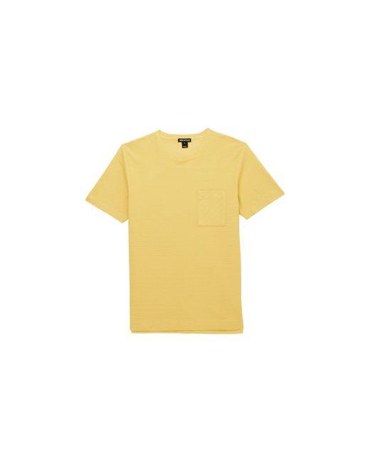 Whistles   Yellow Herringbone T-shirt for Men   Lyst