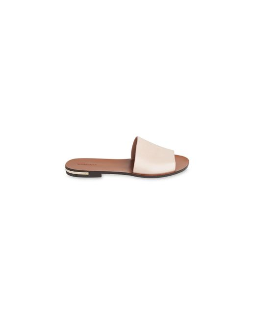 Whistles | Pink Limited Metal Detail Slider | Lyst