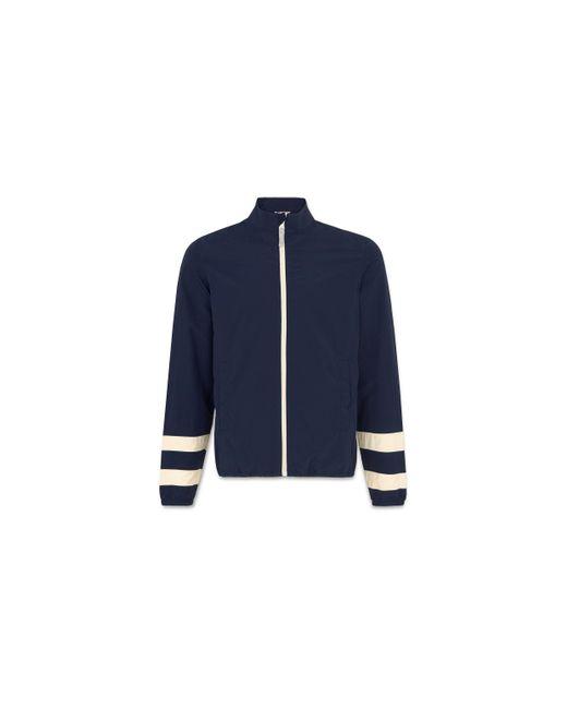 Whistles | Blue Funnel Neck Jacket for Men | Lyst