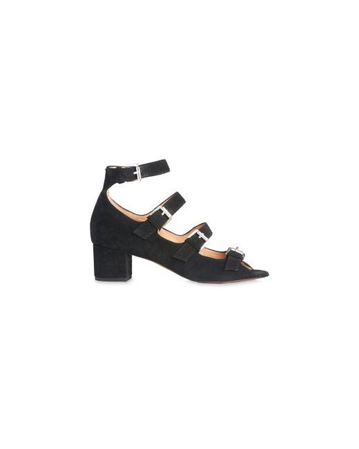 Whistles | Black Verde Multi Buckle Sandal | Lyst