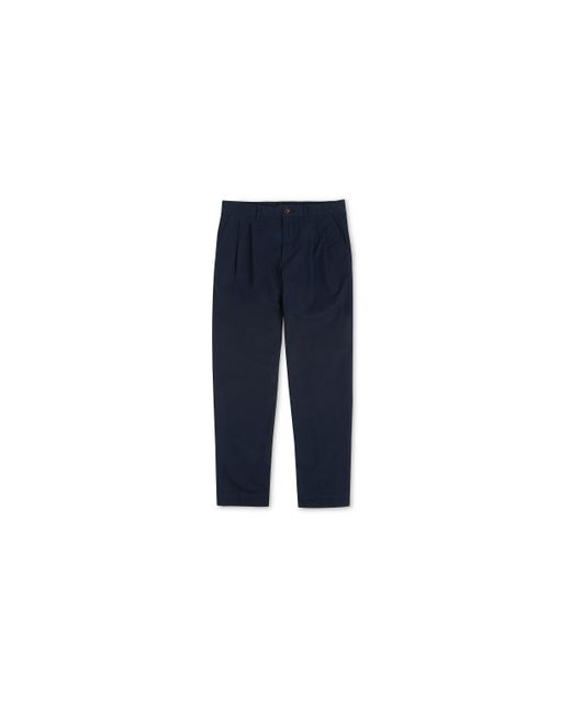 Whistles | Blue Pleat Front Chinos for Men | Lyst