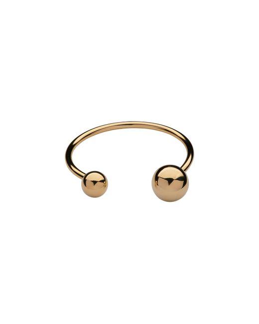 Whistles   Metallic Double Orb Bracelet   Lyst