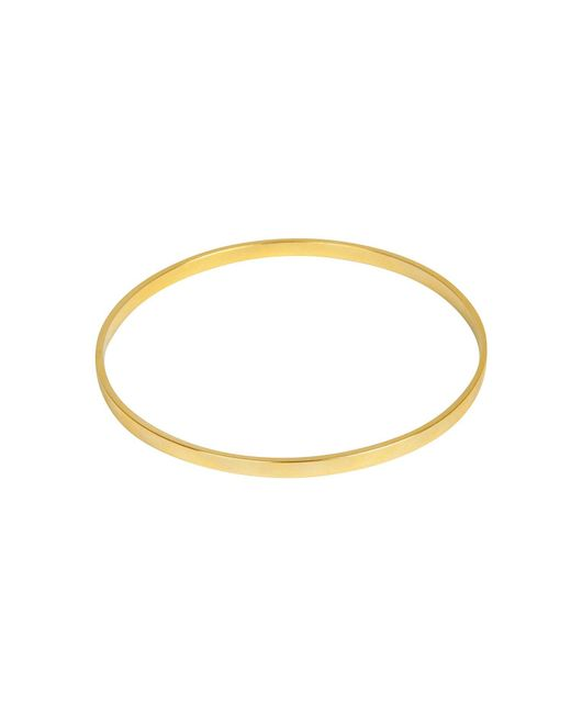Matthew Calvin | Metallic Basic Bangle In Gold | Lyst
