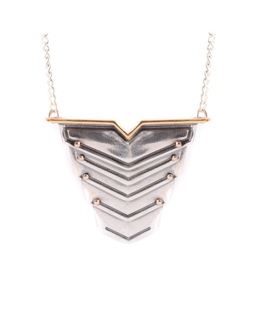 Lee Renee | Metallic Romeo Necklace for Men | Lyst