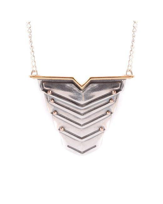 Lee Renee - Metallic Romeo Necklace for Men - Lyst