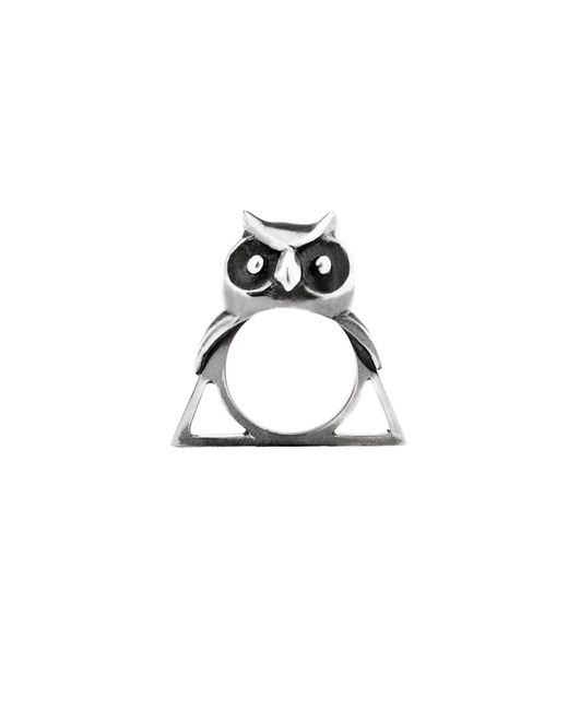 Glenda López - Metallic The Owl Triangle Ring - Lyst