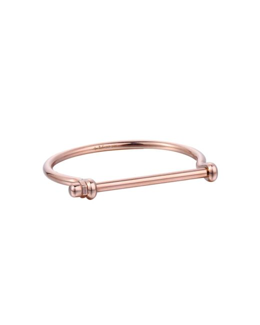Opes Robur - Multicolor Mens Rose Gold Signature Cuff for Men - Lyst