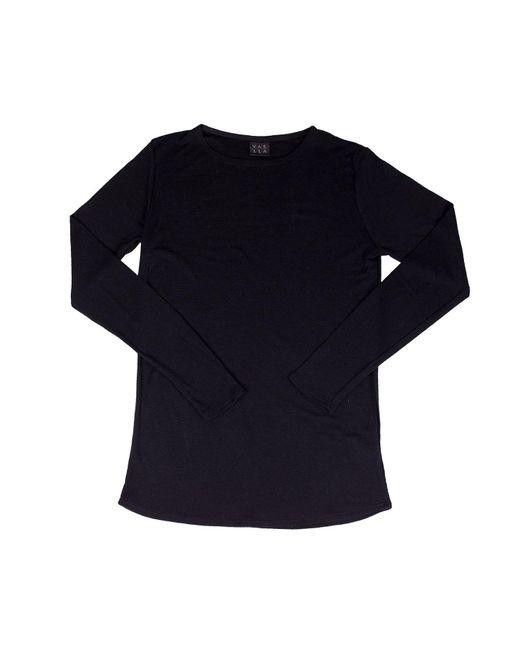 VAELLA | Harbor Black Merino Knitwear for Men | Lyst
