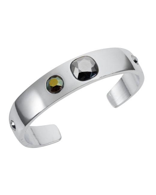 Nadia Minkoff | Metallic Narrow Cuff Silver Chrome | Lyst