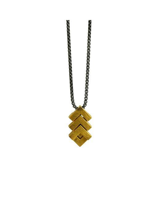 Helen Rankin | Metallic Rhythm Mini Pendant 18ct Gold Plate | Lyst