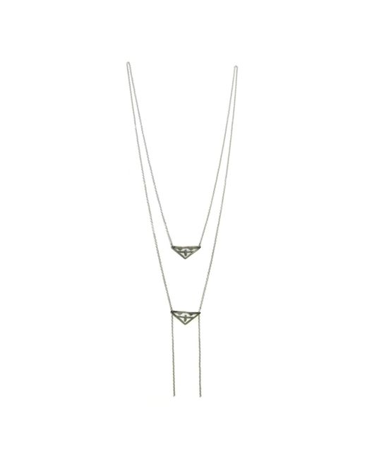 Bug | Metallic Ancolie Necklace | Lyst