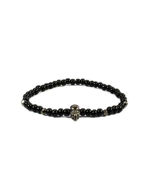 CLARISTE JEWELRY | Men's Skull Bracelet Black for Men | Lyst