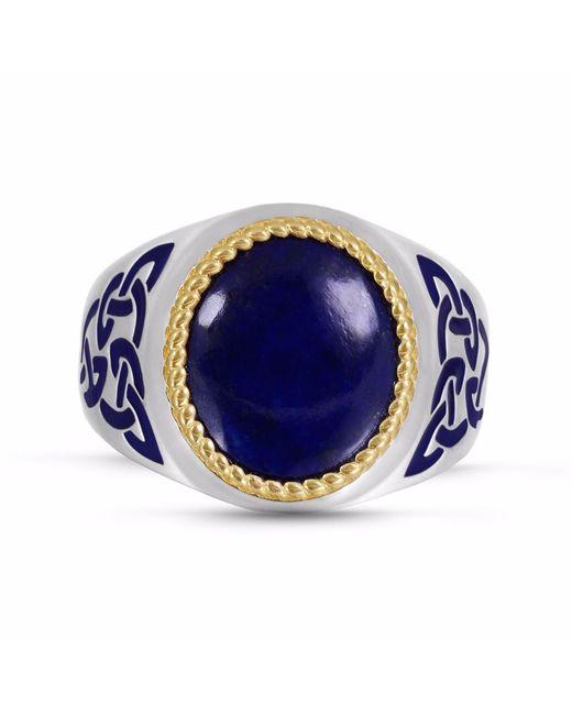 LMJ | Blue Lapis Lazuli Stone Ring | Lyst