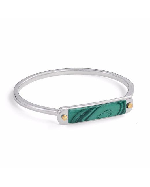 LMJ | Green Malachite Small Id Cuff Bracelet | Lyst