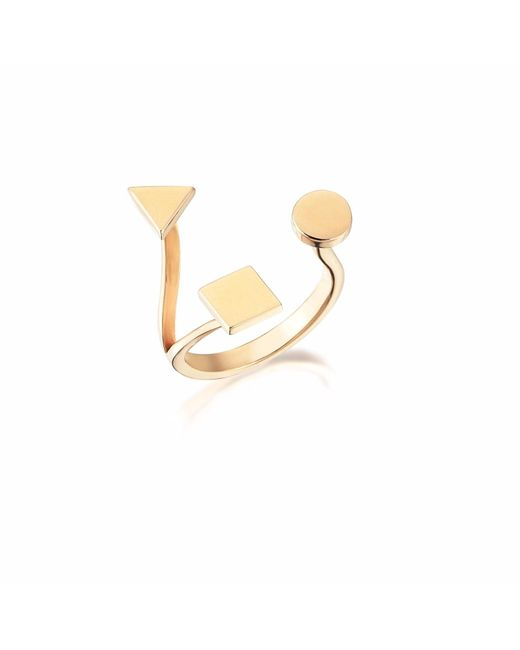 Sadekar Jewellery | Multicolor A Triple Ring | Lyst