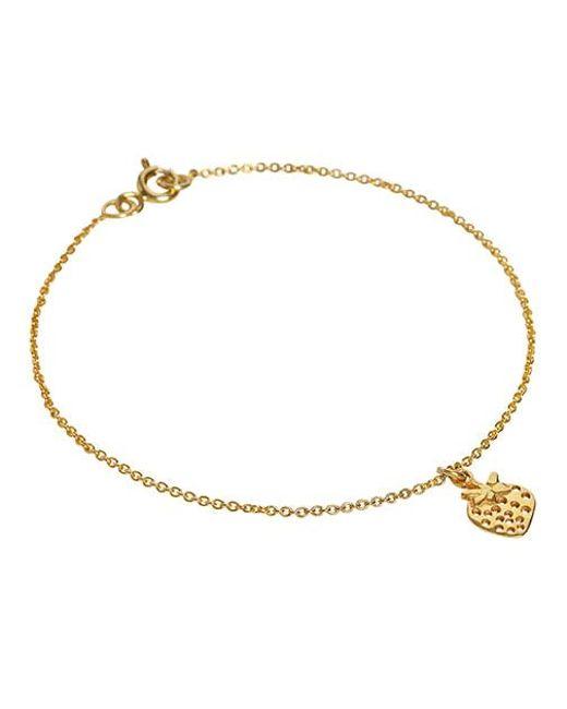 Enelle | Metallic Fraise Bracelet | Lyst