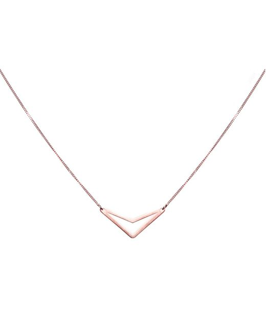 Dutch Basics | Metallic Tui Necklace Rose Gold | Lyst