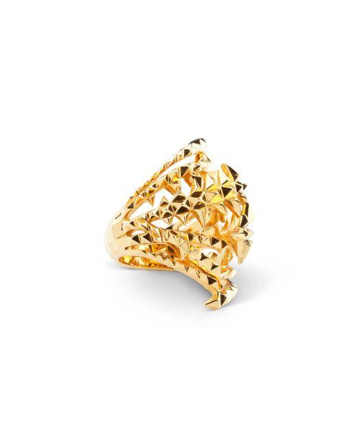 Kasun | Metallic The Blades Of Octopi Gold Ring | Lyst