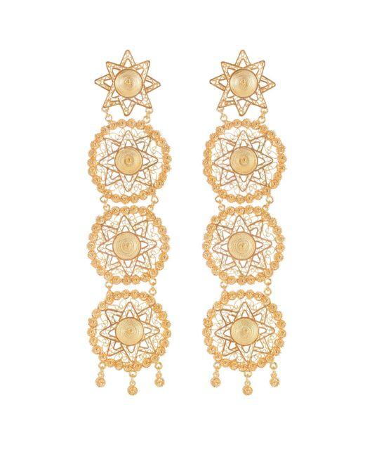 Vanilo | Metallic Amaya Earrings | Lyst