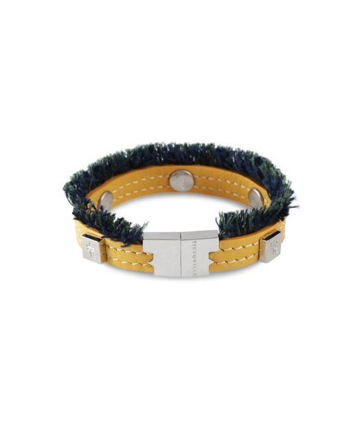Tissuville - Multicolor Flik Mini Bracelet Custard Silver - Lyst