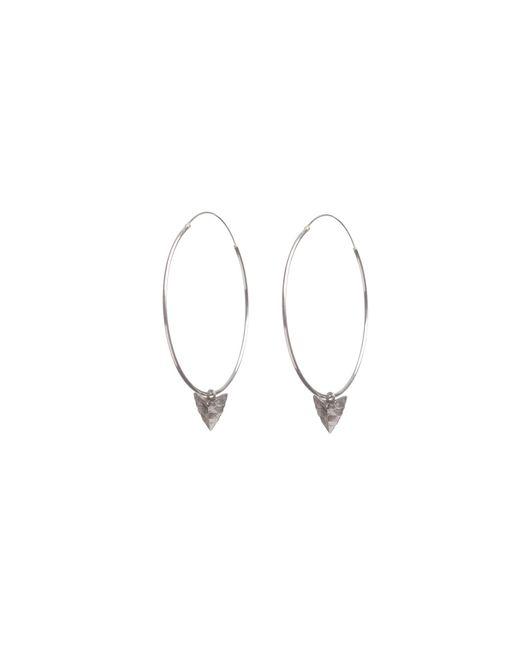 Rachel Entwistle | Metallic Modern Primitive Large Hoops Silver | Lyst