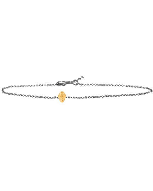 Lee Renee - Metallic Tiny Voodoo Ghede Bracelet Gold & Silver - Lyst
