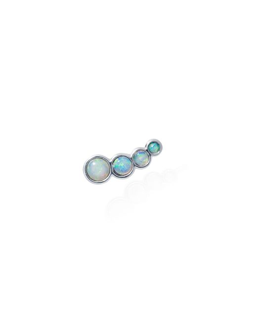 Lee Renee | Blue Opal Slider Mono Earring Left Ear | Lyst