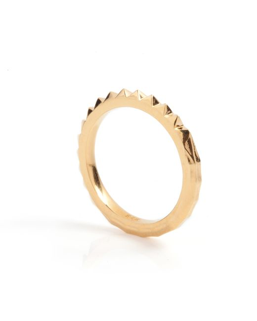 Kasun | Metallic Crocodile Ring Gold | Lyst