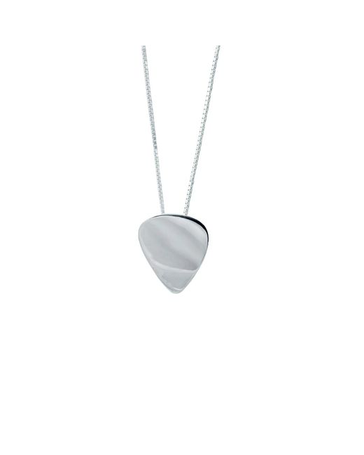 Edge Only | Metallic Washer Necklace Men's In Silver for Men | Lyst