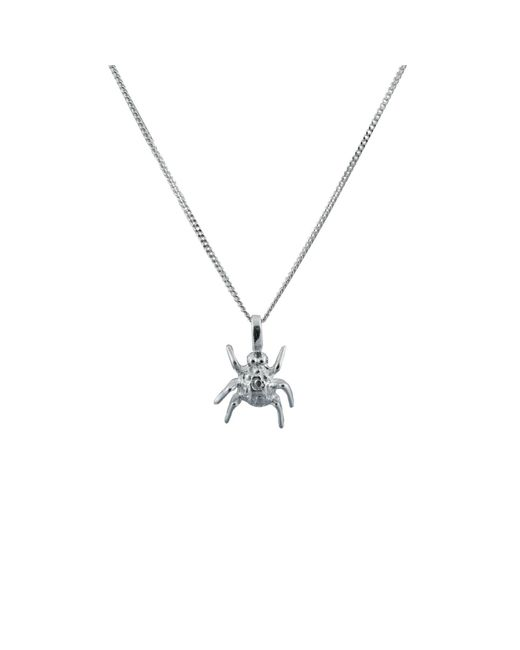 Edge Only | Metallic Spotted Bug Pendant Silver | Lyst