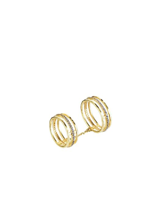 Tada & Toy | Metallic Victoria Falls Ring Gold | Lyst