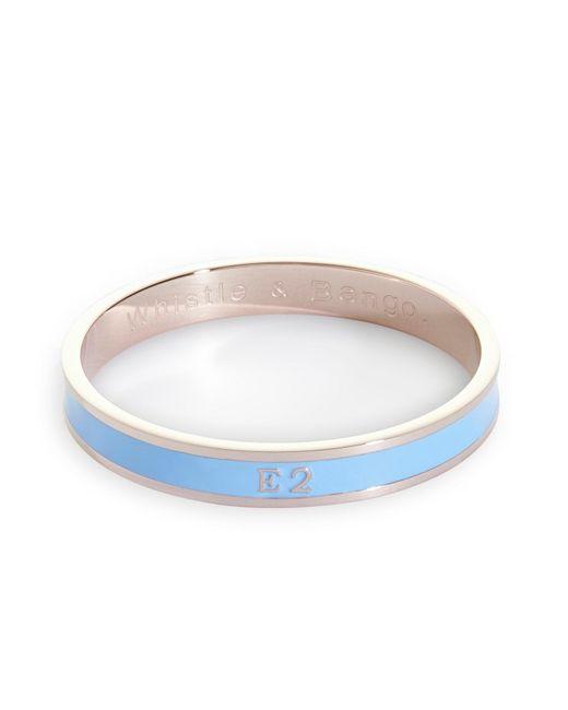 Whistle & Bango | Blue E2 Bangle | Lyst