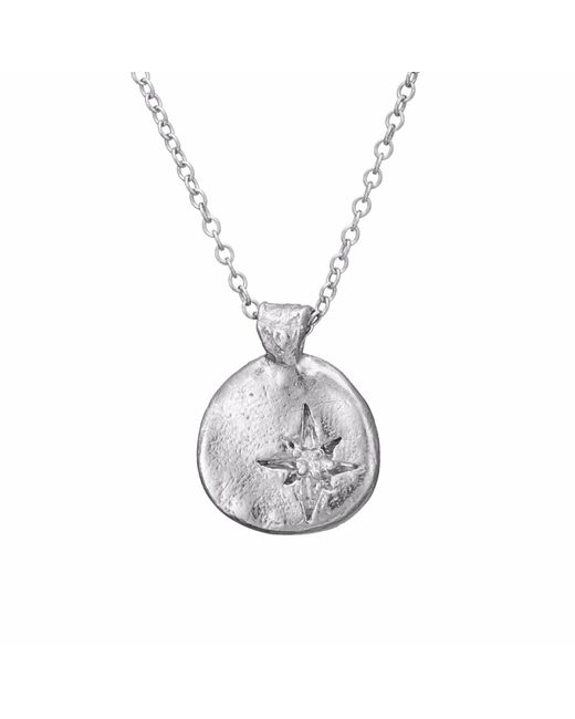 Chupi - Metallic Your North Star Necklace In Silver - Lyst