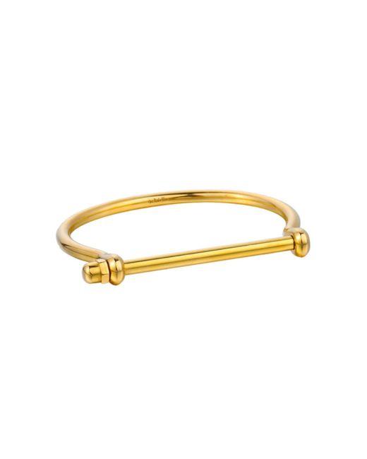 Opes Robur - Metallic Womens Gold Signature Cuff - Lyst