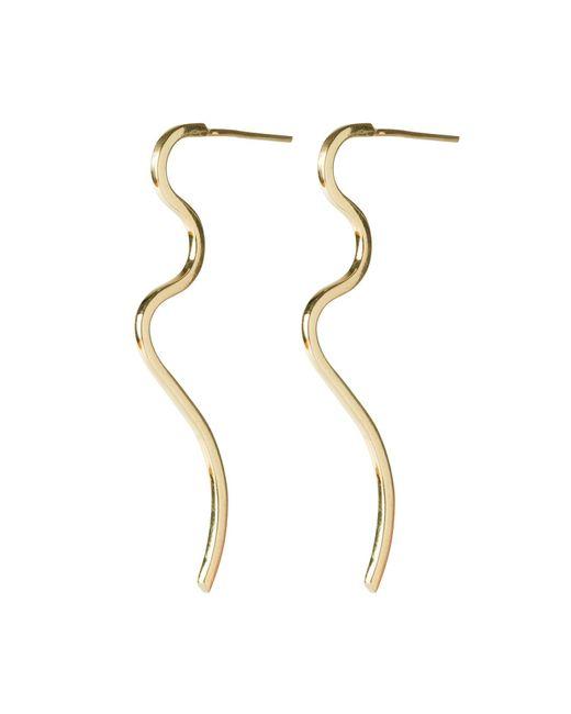 Dorota Todd   Metallic Loop Long Earrings   Lyst