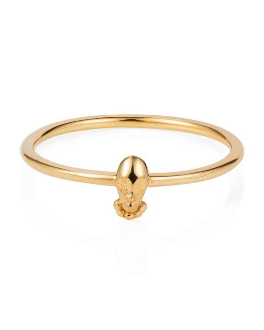 Lee Renee   Metallic Tiny Voodoo Orunla Ring – Gold Vermeil   Lyst