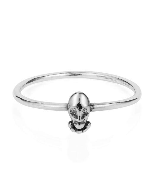 Lee Renee | Metallic Tiny Voodoo Orunla Ring Silver | Lyst
