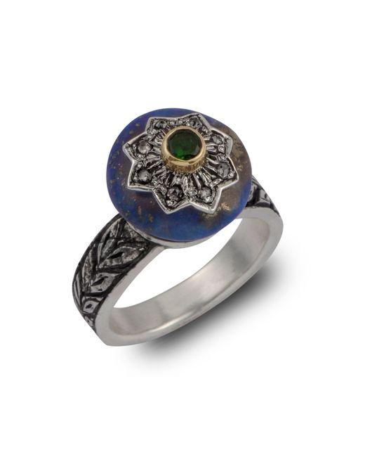Emma Chapman Jewels | Blue Lapiz Star Diamond Ring | Lyst