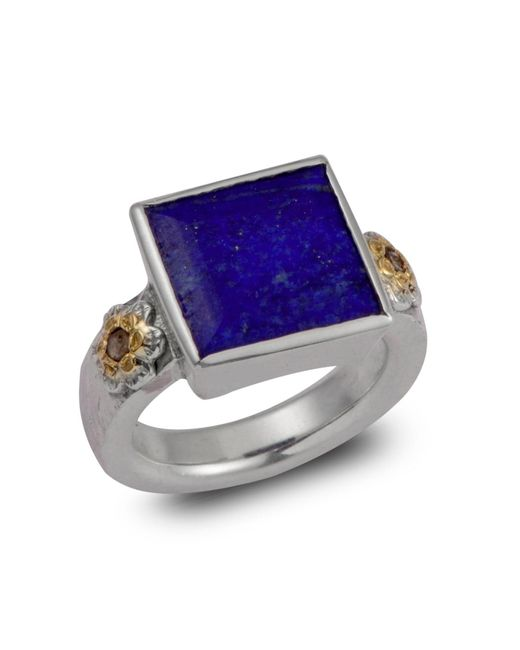 Emma Chapman Jewels | Blue Ava Ring | Lyst