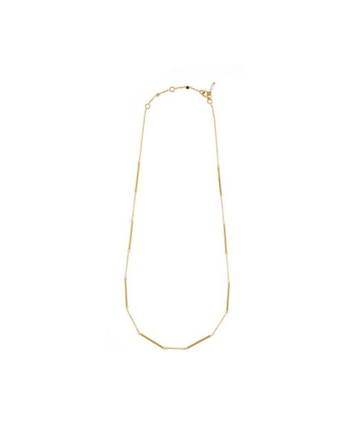 Tada & Toy | Metallic Sky Atlas Necklace Gold | Lyst