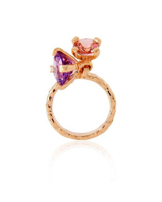 Alexandra Alberta | Metallic Belle Ring | Lyst