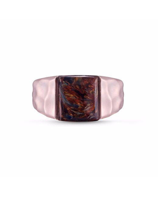 LMJ | Multicolor Red Pietersite Stone Ring | Lyst