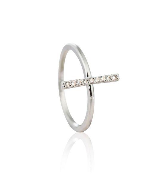 Astrid & Miyu | Metallic Chase Me Midi Ring In Silver | Lyst