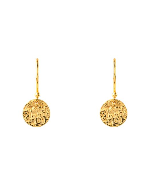 Latelita London - Metallic Cosmic Full Moon Earrings Gold - Lyst