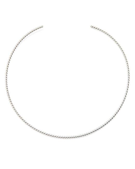 Isabel Lennse | Metallic Round Bangle Necklace Twisted | Lyst
