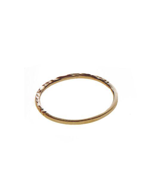 KIND Jewellery | Metallic Gold Demi Orbit Ring | Lyst