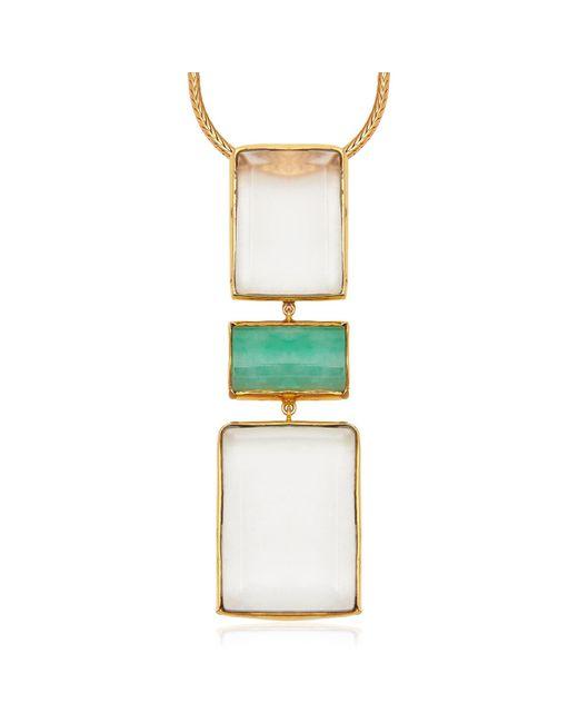 Alexandra Alberta | Multicolor Mondrian Jade Necklace | Lyst