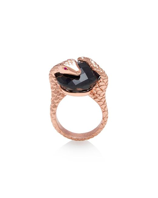Alexandra Alberta   Black Gaia Onyx Ring   Lyst