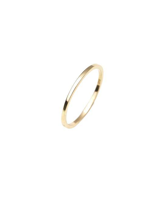 Isabel Lennse | Metallic Extra Thin Plain Ring Gold | Lyst